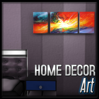 Lava Explosion Art (Penthouse Corona Decor)