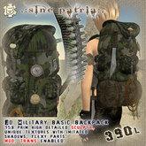 J's camo Military backpack full