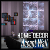 Glass Accent Wall (Penthouse Corona Decor)