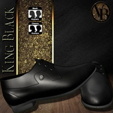.::LiX::.King Black Dress Shoe