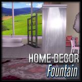 Silver Fountain (Crown Regalia Decor)