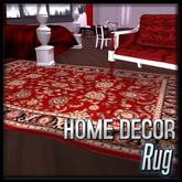 Crimson Mist Rug (Crimson Mist Decor)