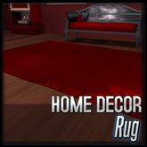 Akaesha's Gothic Royale Rug - Red Rug (Gothic Royale Decor)