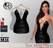 #b Tori Black Mini Dress