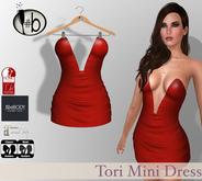 #b Tori Red Mini Dress