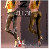 ChloeSkinny Jeans - Gold / Maitreya, Belleza, SLink & Fit