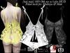 [baii maii] 089 Ohh my w/color HUD Panties,Top,Dress,Mesh,Maitreya & Slink,Mesh,Dress,