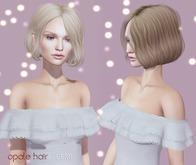 opale . Demi hair {Black color pack}