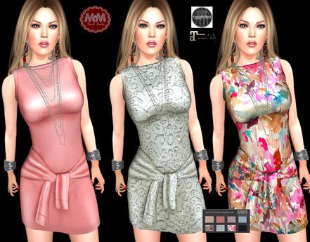 M&M-LEINA DRESS-S