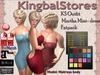 420 KS MARTHA MINI-DRESS LOW PLUNGE FATPACK