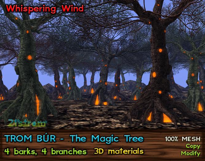 TROM BÚR - The Magic Tree in 4 Seasons for Halloween and Christmas