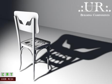 .:UR:. Halloween - Shadow Monster Chair (full perm mesh)