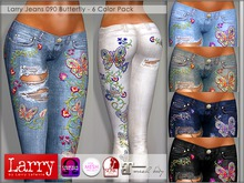 LARRY JEANS - Jeans 090 Butterfly - 6 Colors
