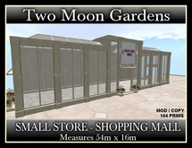 TMG - SMALL STORE - SHOPPING MALL*