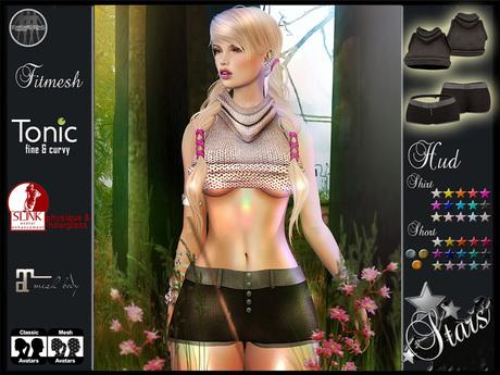Second Life Marketplace Stars Sexy Clothes Maitreya Belleza