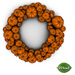 -Mint- Pumpkin Wreath