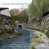 *booN-kura Canal Building kit full set
