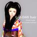 *booN Lab.048 hair black pack
