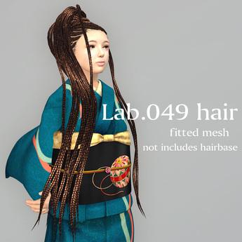 *booN Lab.049 hair black pack