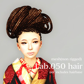 *booN Lab.050 hair black pack