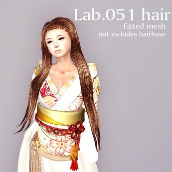 *booN Lab.051 hair DEMO