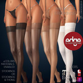 Wild Orchid Edge: Magnetic Stockings 4 Color Pack with Materials Enabled