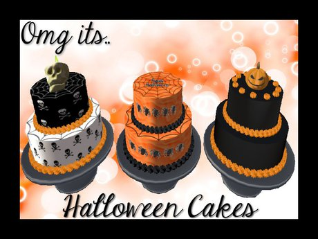 Second Life Marketplace Halloween Cakes