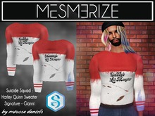 Harley Quinn - Suicide Squad Sweater By Mesmerize for [Signature] Gianni