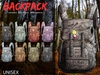 CA VINTAGE BACKPACK UNISEX FAT PACK