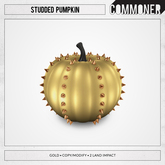 [Commoner] Studded Pumpkin / Gold