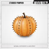 [Commoner] Studded Pumpkin / Natural