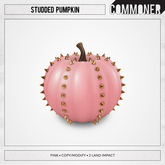 [Commoner] Studded Pumpkin / Pink