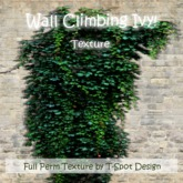 T-Spot Texture - Wall Climbing Ivy No. 2 - FULL PERM