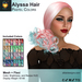 A&A Alyssa Hair Pastel Colors, boxed