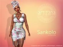 Artizana - Sankolo (Bermuda) - Mesh Dress + Headwrap
