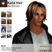 A&A Kalid Hair All Colors Pack. Mid-length mens mesh hairstyle