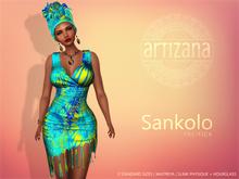 Artizana - Sankolo (Pacifica) - Mesh Dress + Headwrap