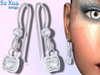 [SuXue Mesh] Angel Earring Solitaire - Resize - Right & Left