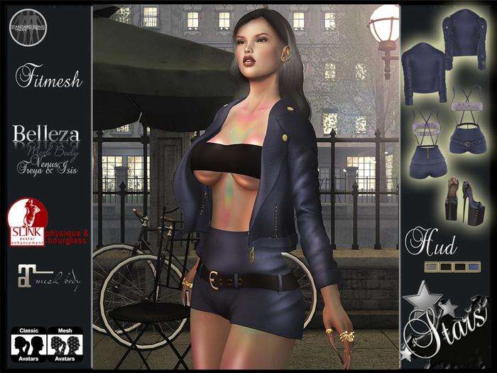 Stars - Sexy clothes (maitreya, classic, belleza,isis,venus,freya,slink,physique,hourglass) - Alycia