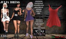 B BOS -Julia Dress-Red-