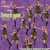 *CC* Sword pose-Female