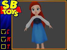 [SB TOYS] Princess Collection Doll- Ariel