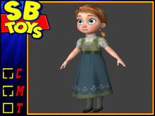 [SB TOYS] Princess Collection Doll- Anna