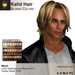 A&A Kalid Hair Blonde Colors Pack. Mid-length mens mesh hairstyle