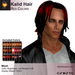 A&A Kalid Hair Red Colors Pack. Mid-length mens mesh hairstyle