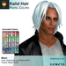 A&A Kalid Hair Pastel Colors Pack. Mid-length mens mesh hairstyle
