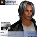 A&A Kalid Hair Greyscale Colors Pack. Mid-length mens mesh hairstyle