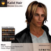 A&A Kalid Hair Brown Colors Pack. Mid-length mens mesh hairstyle