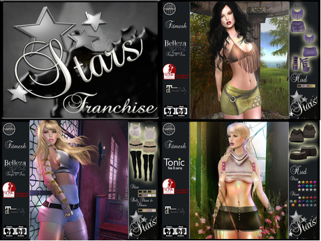 *Stars*Fashion* Franchise, business for resellers (60% for you)
