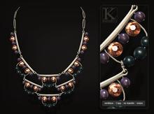 (Kunglers) Irene necklace - Grape
